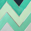 Green Chevron Tiles Icon_