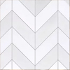 White Chevron Tiles Icon