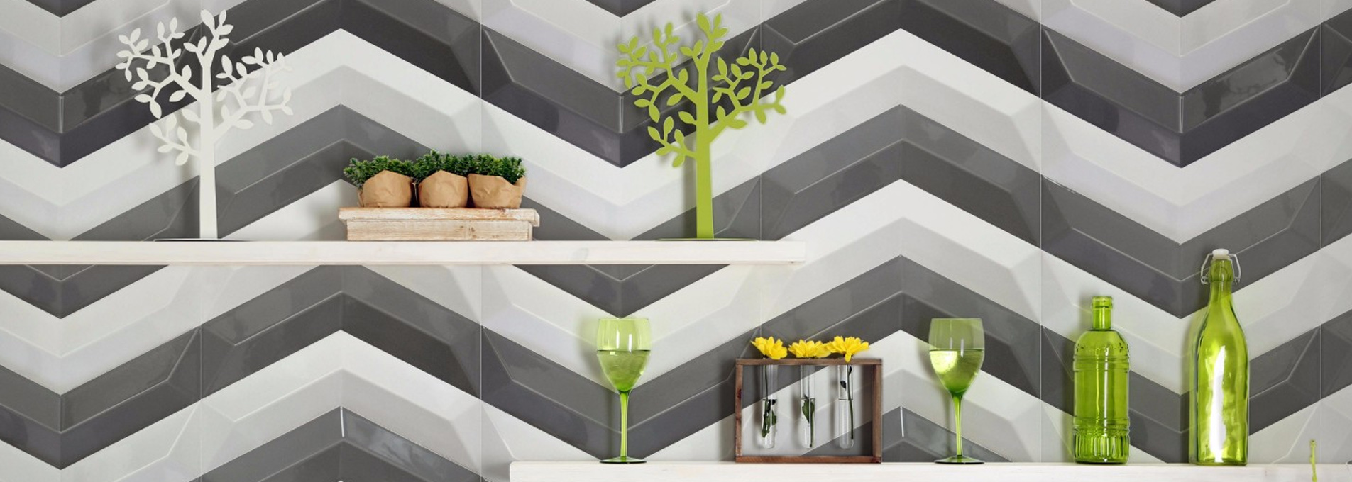 chevron wall tiles Banner